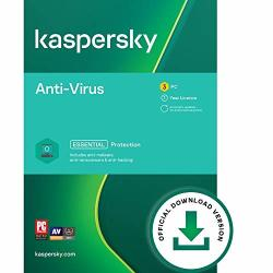 Kaspersky Anti-virus 2021 3 Devices 1 Year PC Online Code