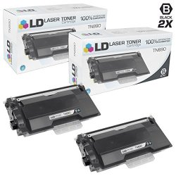 BrOther Ld Compatible TN890 Pack Of 2 Ultra High Yield Black Toner Cartridges For HL-L6400DW HL-L6400DWT And MFC-L6900DW