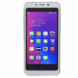 Smart Phone Black 2G+16G 5.0INCH Screen Ultra-thin Dual Card Dual Standby Face Recognition 3G Smart Mobile Phone For Android 6.0 Us Plug