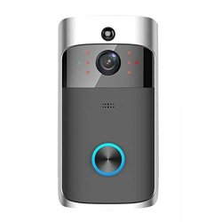 Alextreme Wireless Wifi Door Bell Smart Video Phone Door Visual Ring Intercom Camera Safety System