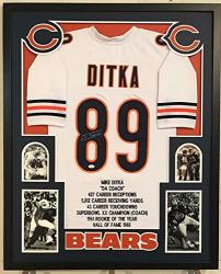 meet 68878 afa06 Framed Mike Ditka Autographed Signed Chicago Bears Stat Jersey Jsa Coa | R  | Firearms | PriceCheck SA