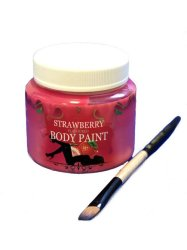 Strawberry Flavoured Body Paint 200ml