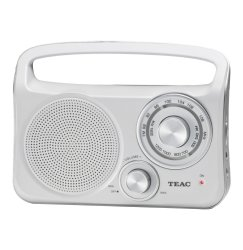 Teac PR-300 Am fm Portable Radio - White
