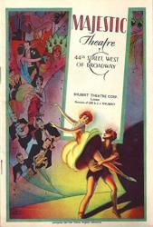 """Phil Baker""""artists And Models"""" Aileen Stanley shaw And Lee 1930 Broadway Flop Playbill"""