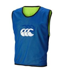 Canterbury Senior Bibs Set Of 10 - Mens Green yellow