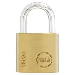 Yale - Ess Brass Pl 30MM