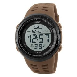 Mens Military Sport Waterproof Watch Alarm Stopwatch