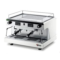 Wega Lunna Commercial Espresso Machine - 2 Group Evd Auto - White