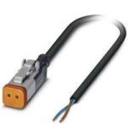 Phoenix Contact 1410732 Sensor Cables actuator Cables SAC-2P- 3 0-PUR DTFS-1L-S