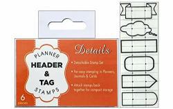 Contact Usa CU-08312 Details Header & Tag Stamp Set