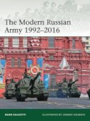 The Modern Russian Army 1992-2016 Paperback