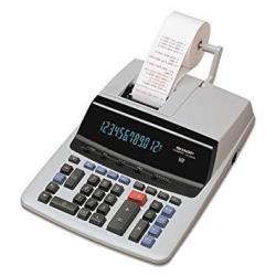 Sharp EL-1750V Two-color Printing Calculator Black red Print 2 Lines sec Sold As 2 Each