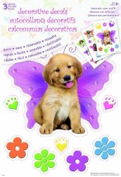 Sandylion 11X17 Decal - Kimberlin Puppies