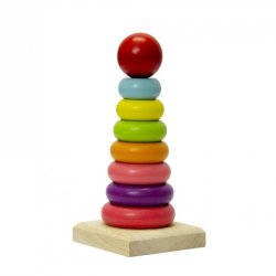Jeronimo Wooden Stacking Rings