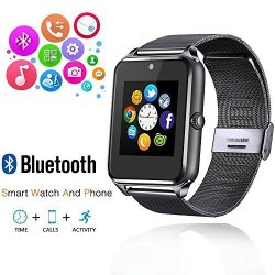 AHSSZ HV09 Bluetooth Smart Watch Camera For Smart Phones Call Sync And Handfree Support Android 4.2
