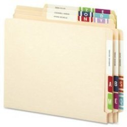 SMEAD MANUFACTURING CO. Smead 67180 Alpha-z Color-coded Labels Letter J Yellow 100 Labels pack