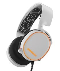 SteelSeries Arctis 5 Rgb Illuminated Gaming Headset With Dts Headphone:x 7.1 Surround For PC Playstation 4 Xbox One VR Android A