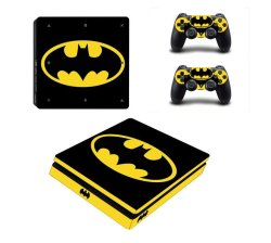 SKIN-NIT Decal Skin For PS4 Slim: Batman 2018