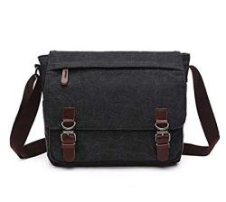 "Canvas Laptop Messenger Bag Travel School Bookbag For 11.6"" Lenovo Chromebook C330 500E 300E Ideapad 130S Thinkpad 11E 12.5"" Yoga 720 710 Dell Xps"