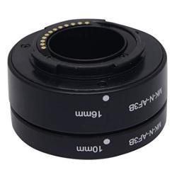 Mcoplus MK-N-AF3-B Auto Macro Focus Af Extension Tube Ring Set Adapter For Nikon 1 Mount Lens Camera J1 J2 J3 V1 V2