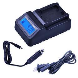 DCR-HC33E DCR-HC35E Handycam Camcorder DCR-HC32E LCD Displays Fast Battery Charger for Sony DCR-HC30E