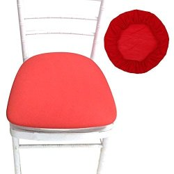 Shzons Chair Seat Covers Removable Elastic Dining Chair Cover Protectors Stool Slipcovers For Bar Stools Dining Room Patio Office Chair