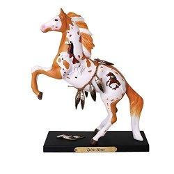 Enesco Trail Of Painted Ponies Spirit Horse Stone Resin Figurine Multicolor