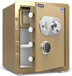 USA Zcf Security Safes Mechanical Security Safes Deposit Box For Household Wall-anchoring Lock Box Includes Keys For Jewelry Cash Use Storage Cabinet Co