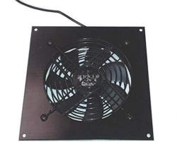 Single 120MM USB Fan With Bracket And Preset Thermostat