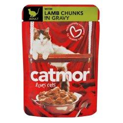 Catmor - Kitten Food Chuncks In Gravy 85G Lamb