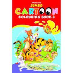 Jumbo Cartoon Colouring Book - 3