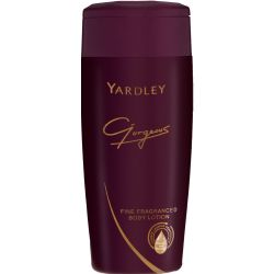 Yardley 400ml Gorgeous Fine Fragranced Body Lotion