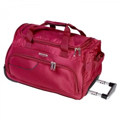 Tosca 50cm Ultralight Red Trolley Duffle Bag