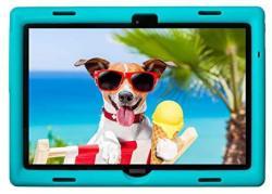 Bobjgear Bobj Rugged Tablet Case For Lenovo Smart Tab M10 TB-X605F And P10 TB-X705F Kid Friendly Terrific Turquoise