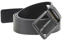 Boss Orange Men's Jord Embossed Leather Belt Black 34