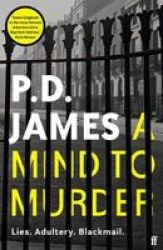 A Mind To Murder Paperback