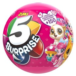 Zuru - 5 Surprise Assorted Toy Eggs With 5 Toys