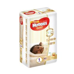 Huggies New Baby 42 Nappies Size 1