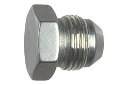 ICT Billet 8AN Flare Plug Male Nut 8 An Block Off Cap Fitting Bare AN806-08A