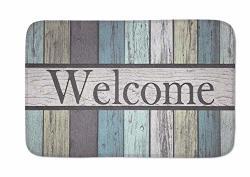 """Qj Cmj Personality Doormats Door Mat Entrance Mat Floor Mat Welcome Mats outdoor front Door bathroom Mats Rugs For Home office bedroom Non Slip Backing 30"""" L X 18"""""""