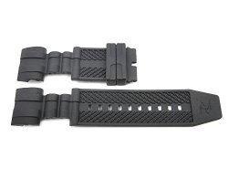Bandenba Replacement Black 26MM Rubber Watch Band For Invicta Bolt Series