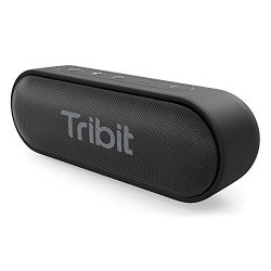 Tribit Xsound Go Bluetooth Speaker - 12W Portable Speaker Loud Stereo Sound Rich Bass IPX7 Waterproof 24-HOUR Playtime 66 Ft Blu