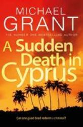 A Sudden Death In Cyprus Paperback Main