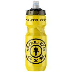 Golds Gym Sports Bottle Gold