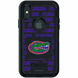 Fan Brander Nba Phone Case Compatible With Apple Iphone Xr With Otterbox Defender With Repeating Design Florida Gators