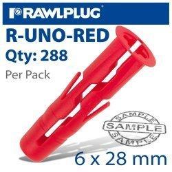 RawlPlug Universal Plug Red Wraped