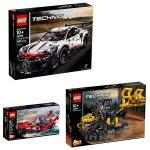 Lego Technic Porsche 911 Rsr Bundle - 42096 & 42094 & Free 42089