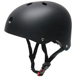 Kuyou Helmet Abs Hard Rubber For Skateboard ski skating roller Snowboard Helmet Protective Gear Suitable Kids And Youth Black
