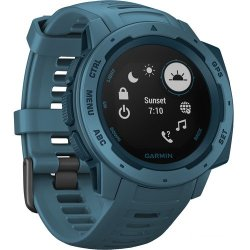 Garmin Instinct Outdoor Gps Watch - Lakeside Blue