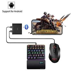 Ipega PG-9116 Wireless 4.0 Mobile Game Controller Keyboard And Mouse Converter Adapter For Android Devices Smartphone tablet Bla